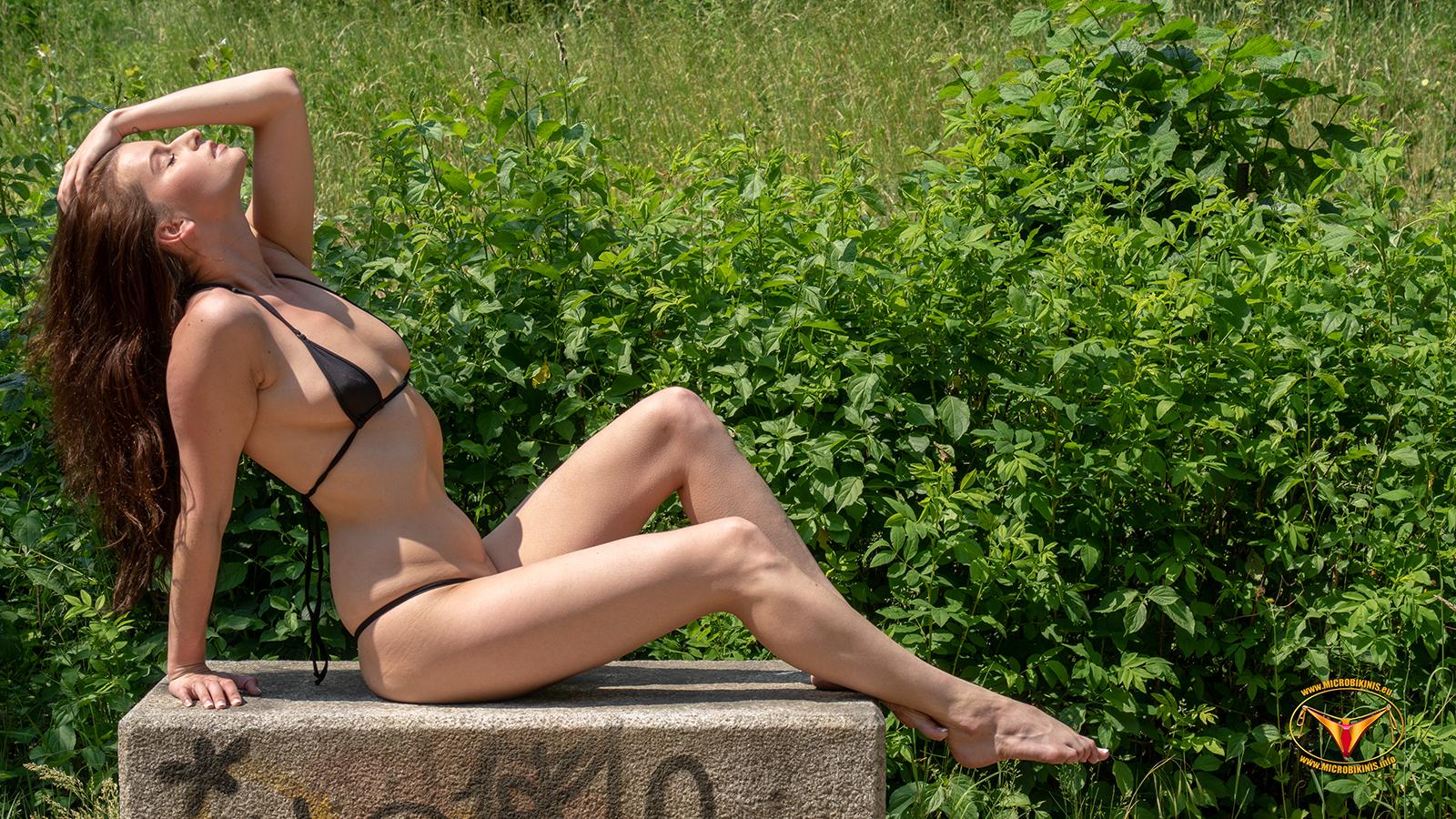 Wallpapers, Foto mit unserem Bikinigirl Kamilka